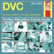 Further Education Course Guide - Study in the UK