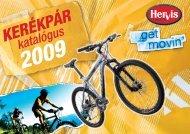 KERÉKPÁR katalógus 2009 - Hervis