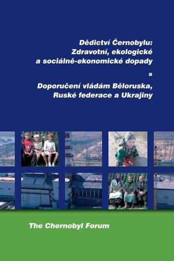 Dědictví Černobylu: Zdravotní, ekologické a sociálně-ekonomické ...