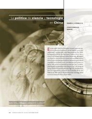 la política de ciencia y tecnología en China - revista de comercio ...