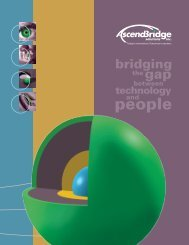 Extended Mechanical Design 2 Configuration (XM2) - AscendBridge ...