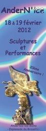 18& 19février 2012 Sculptures et Performances - Mairie d'Andernos