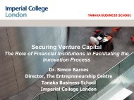 Securing venture capital: the role of financial institutions in ...