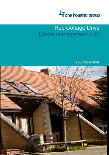 Red Cottage Drive Estate management plan - One Housing Group