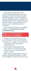 SSDI Application for Wounded Warriors - Page 3