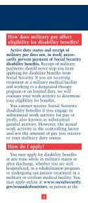 SSDI Application for Wounded Warriors - Page 4