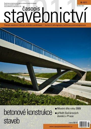 betonové konstrukce staveb - Časopis stavebnictví