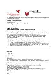 Tagungsprogramm (PDF 344KB)