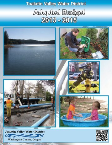 Adopted Budget 2013 - 2015 - Tualatin Valley Water District