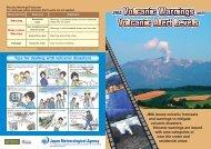 JMA Volcanic Warnings and Volcanic Alert Levels