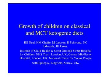 Growth of children on classical and MCT ... - Matthews Friends