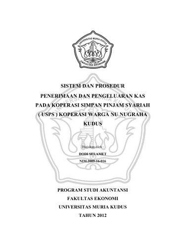 Download (183Kb) - Universitas Muria Kudus