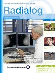 Radialog 01/2008 - Radiologie.de