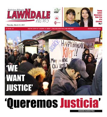 'WE WANT JUSTICE' - Lawndale News