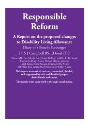 Responsible Reform - Ekklesia