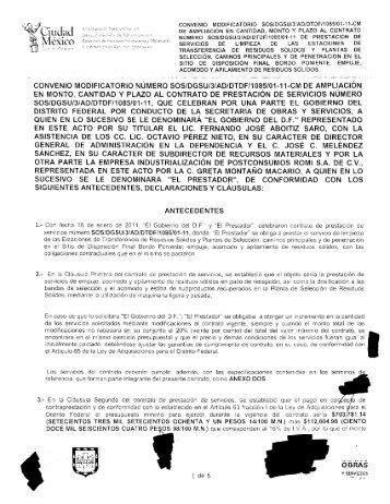 SOS/DGSU/3/AD/DTDF/1085/01-11-CM - Secretaria de Obras y ...