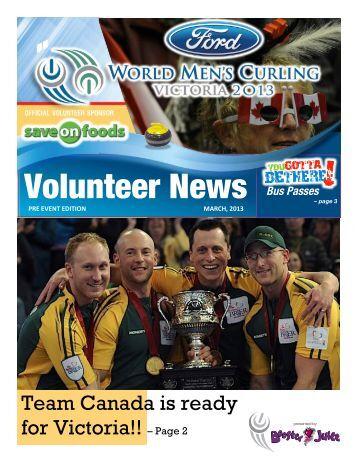 Volunteer News