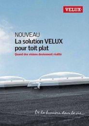 La solution VELUX pour toit plat - Vitrotoit SA