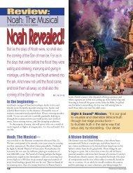 Noah: The Musical Review - Branson Savings .Com
