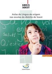 Aulas de Língua de origem nas escolas do distrito de Soest