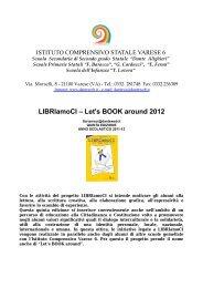 LIBRIamoCI – Let's BOOK around 2012 - dante alighieri'' - varese