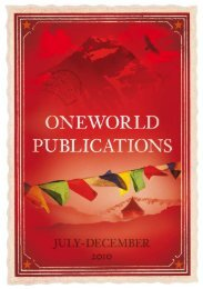 20 Recently Released 21 - Oneworld Publications