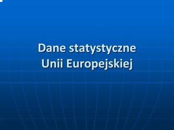 Statystyki UE.pdf - Biblioteka Europejska
