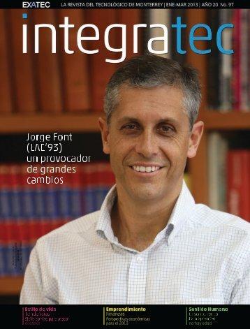 Edición 97 Enero - Marzo 2013. - Exatec - Tecnológico de Monterrey