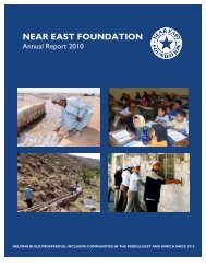 NEF 2010 Annual Report - Near East Foundation