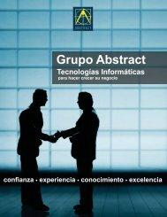Folleto Corporativo - Grupo Abstract, C.A.