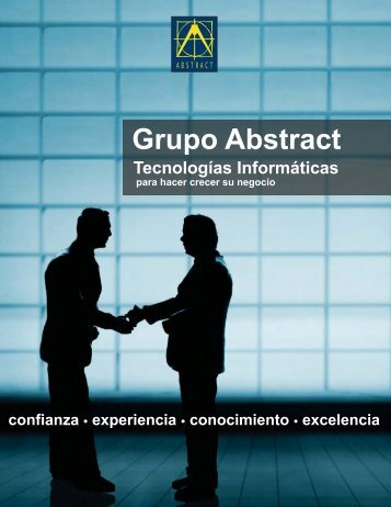 Folleto Corporativo - Grupo Abstract, C.A.