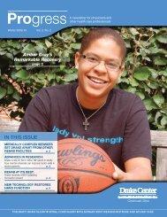 Winter 2010 - Drake Center - UC Health