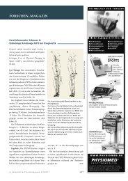 Einbeinige Kniebeuge hilft bei der Diagnostik