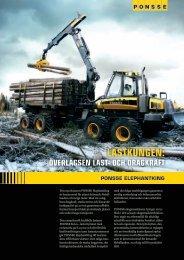 lastkungen: överlägsen last- och dragkraft - Ponsse