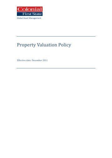 Valuation Report  Property Cube