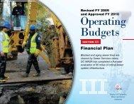 FY 2008 - 2017 Financial Plan - DC Water
