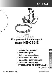 Modell NE-C30-E - Omron Healthcare