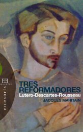 Maritain Jacques - Tres Reformadores