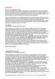 Musterbriefe - Jugendserver Niedersachsen