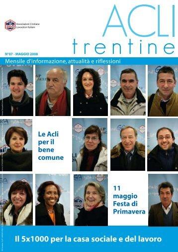 Acli Trentine MAGGIO 2008