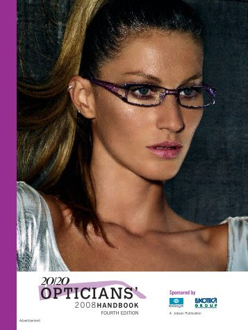 Opticians Handbook 2008 - 20/20 Magazine