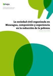 La sociedad civil organizada en Nicaragua, composición y ... - Kepa.fi