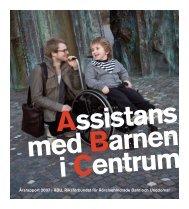 Årsrapport 2007 | RBU, Riksförbundet för Rörelsehindrade Barn och ...