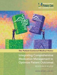 Integrating Comprehensive Medication Management to ... - ACCP