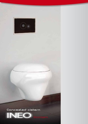 Concealed cistern - Nicoll