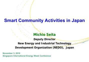 Smart Community Activities in Japan - Solar Panels