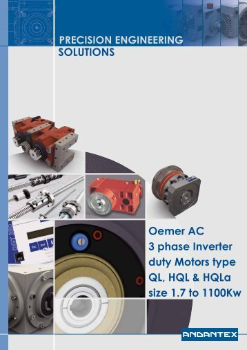 SOLUTIONS Oemer AC 3 phase Inverter duty Motors ... - Andantex UK