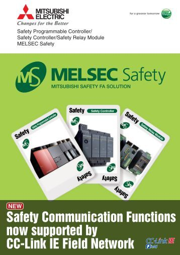 Mitsubishi Electric Safety Relay brochure - Womack Machine Supply ...