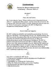 Vereinssatzung - Bürgerschützenverein Lichtendorf-Geisecke 1838 ...
