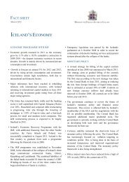 Factsheet - Iceland's Economy - March 2012 - Ministry for Foreign ...